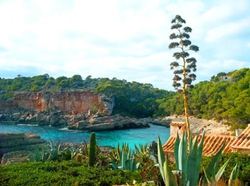 Die Cala Almunia, eine der letzten unbewirtschafteten Buchten an der Ostseite Mallorcas.